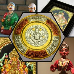 Welcome to Chola Impressions - World of exquisite Indian Arts & Tanjore Paintings