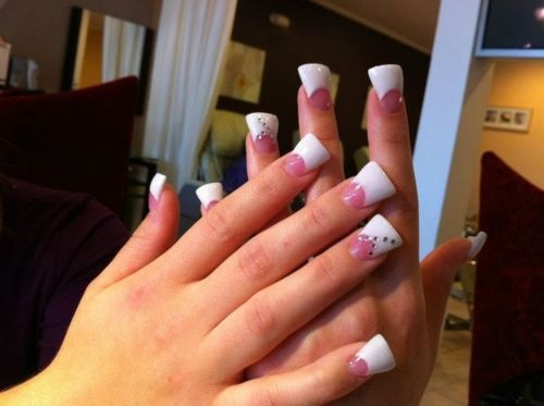 528 best nails images on pinterest acrylic nail art acrylic love flared nails prinsesfo Images