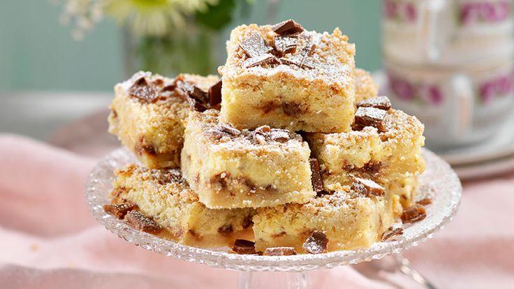Vaniljrutor med daim recept