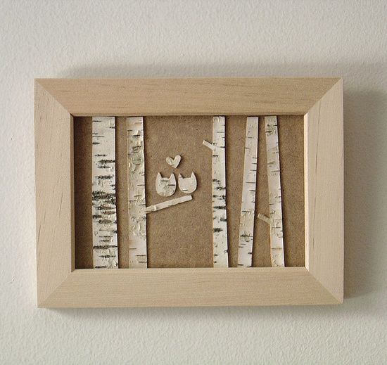 Owl wall art..... Cute & Easy  DIY for | http://awesome-do-it-yourself-collections.blogspot.com