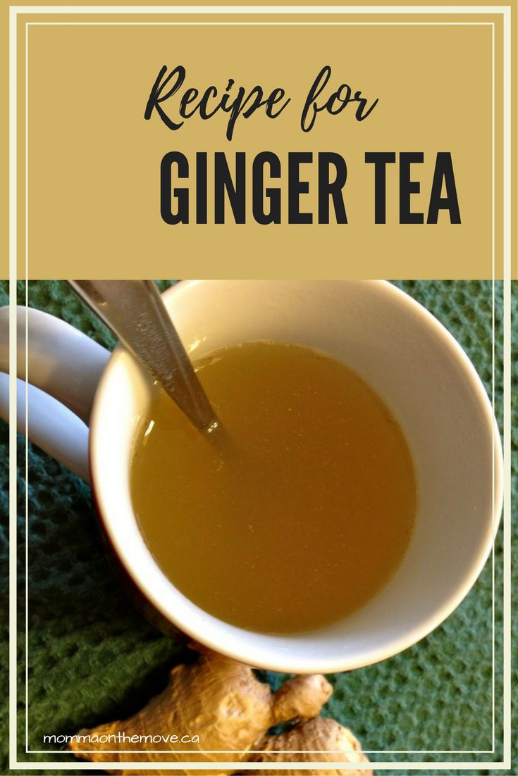 Ginger tea is a homemade remedy for nausea, colds and flu. Easy to make this natural remedy provides even more benefits with honey, cinnamon or lemon. It is also great for your health and digestion. I love this tea so much that I have it every morning before breakfast.