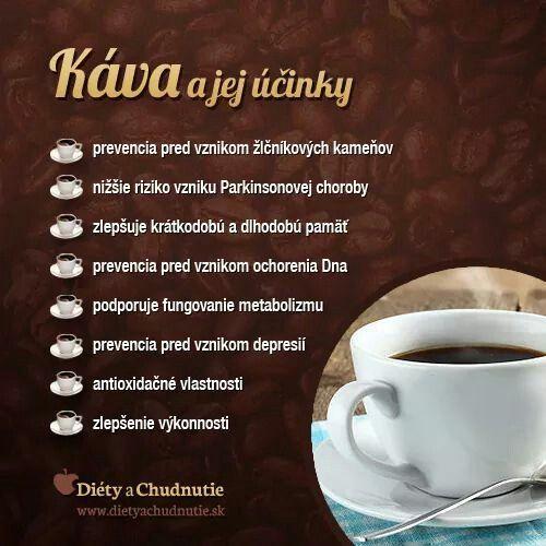 Káva a jej účinky.