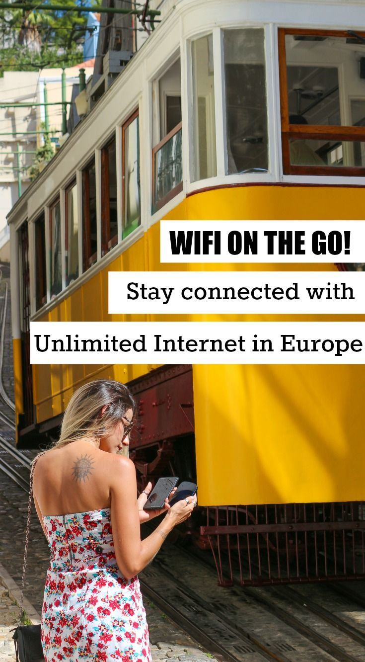 Stay connected in Europe and around the world. How to have your own international pocket wifi and have access to unlimited internet while traveling. All you need to know to rent and use a portable wifi on your next trip.  via @loveandroad  #europe #eurotrip #traveltips #internet #pocketwifi #travelplanning