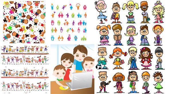 disegno di figura Cartoon bambino