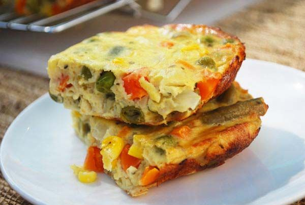Low carb veggie dishes   low-calorie, high-protein vegetable quiche makes a great main dish ...