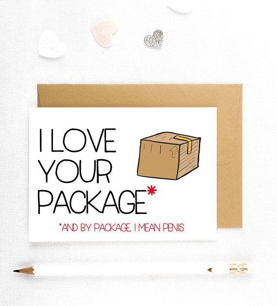 Dirty Valentine Card, Adult Valentine Card, Naughty Cards, Sexy Valentine Cards, Valentine's Day Funny Valentine