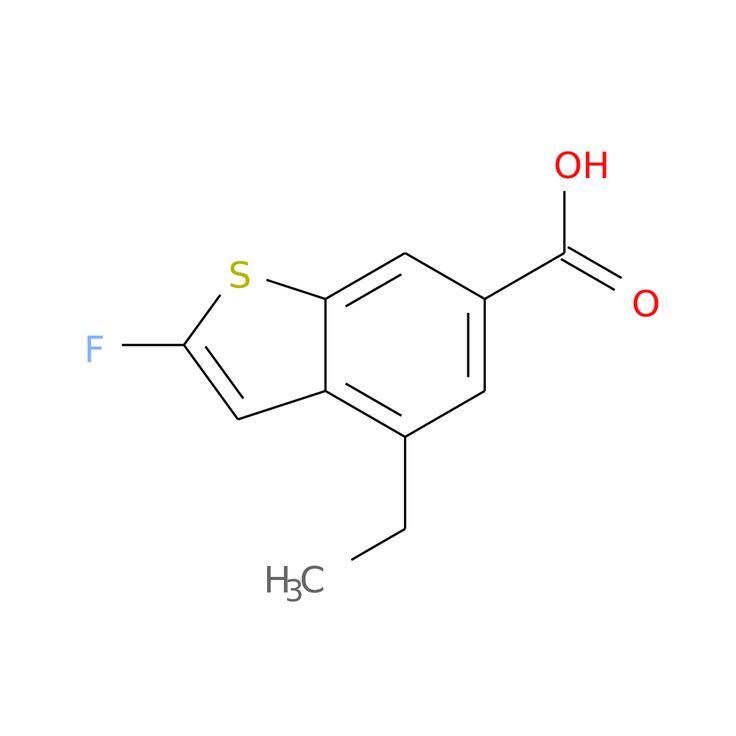 4-ETHYL-2-FLUOROBENZOTHIOPHENE-6-CARBOXYLIC ACID is now  available at ACC Corporation