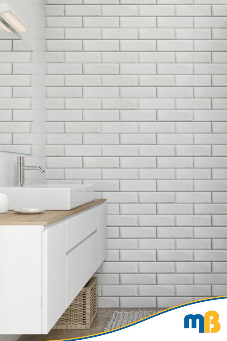 Vilo Motivo Modern White Brick 2650mm 4 Panels Per Pack Mb Diy Bathroom Wall Panels Bathroom Cladding Bathroom Wall Cladding