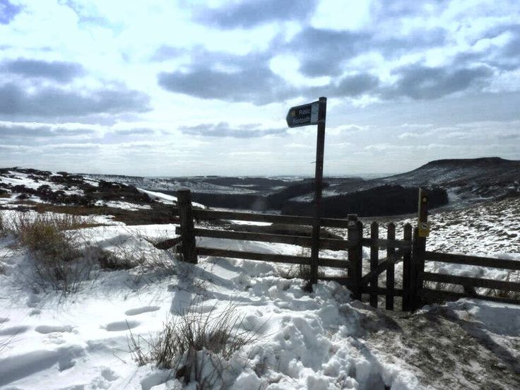 Burbage Edge, Peak District