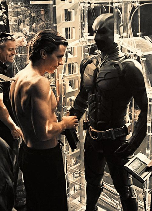 The Dark Knight Rises behind the scenes