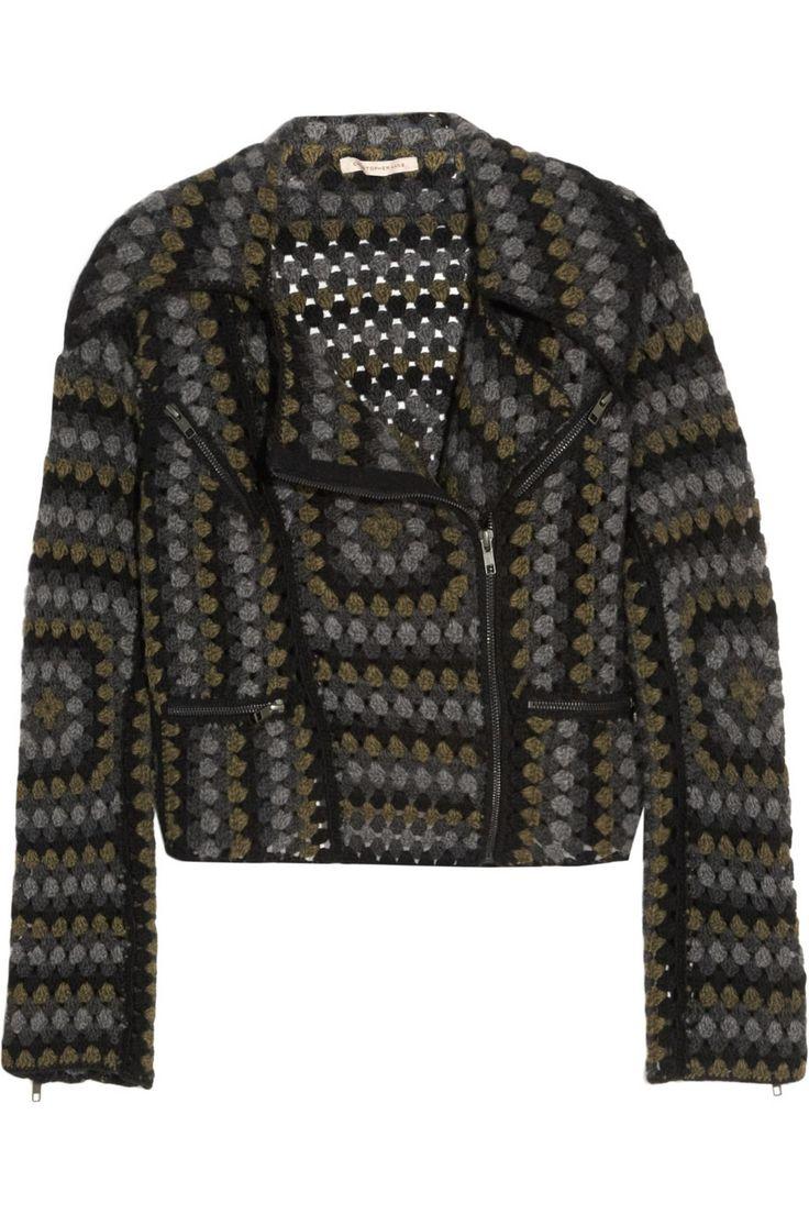 •Heirloom | Hand crocheted biker jacket | Christopher Kane with Johnston's of Elgin | 2011