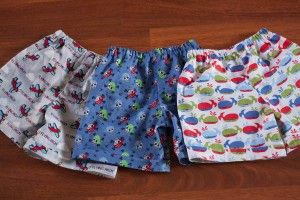 Fantastic little shorts - especially good as a diy present for little boys