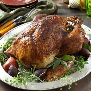 Day eleven of Taste of Home's Thanksgiving Countdown: Herb-Brined Turkey Recipe shared by Scott Rugh of Portland, Oregon