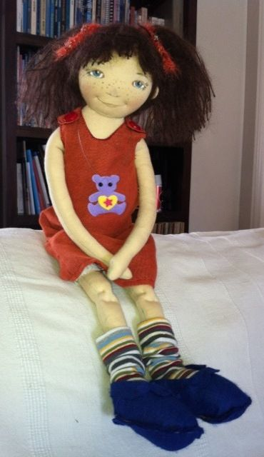 Niki's doll - Handmade by Katerina