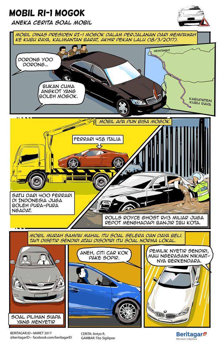 KEPANTASAN | Mobil bukan cuma kendaraan pengangkut orang. Di dalamnya melekat pandangan hingga harapan pemilik -- dan sering kali juga dari orang lain yang tak berkepentingan.