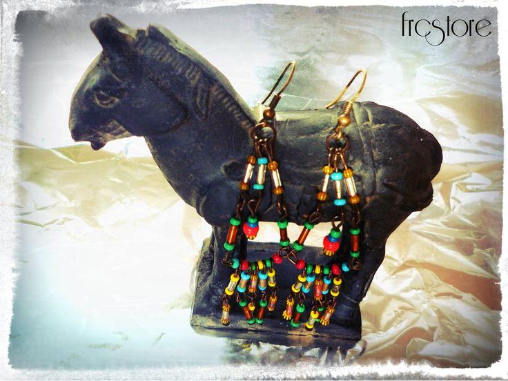 DIY earrings - Summer coctail www.frcstore.cz