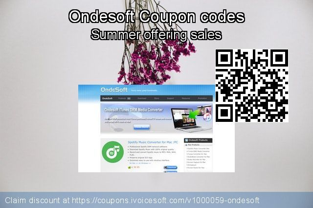 50 Off Ondesoft Coupon Codes For Christmas Offering Discount