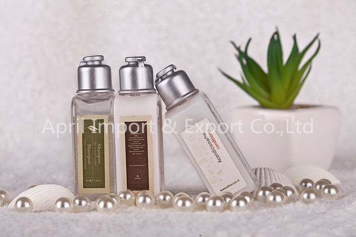 Wholesale Hotel Cosmetic Plastic Shampoo Bottles