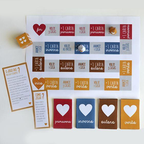 DIY: Jogo de tabuleiro para aniversário de namoro