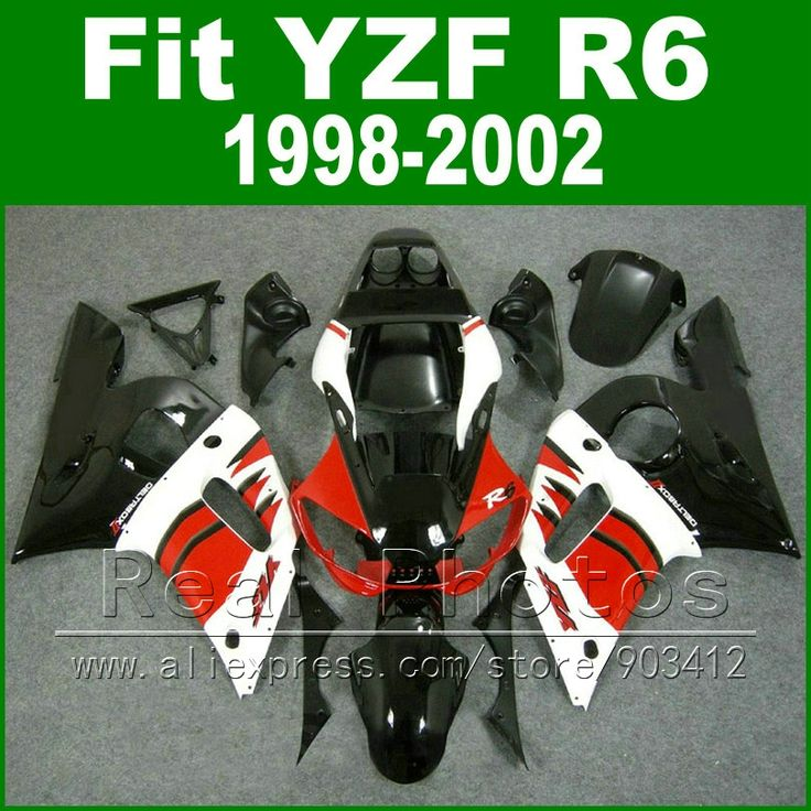 (339.45$)  Watch more here - http://ai0qp.worlditems.win/all/product.php?id=32314118960 - Free Custom Plastic parts for YAMAHA R6 fairing kits 1998 1999 2000 2001 2002  black  red  YZF R6 fairings98 -02 bodywork