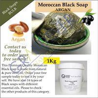 Marocký Black mydlo - s arganovým olejom - Premium Quality 100% Pure & Natural - Bulk - 1 kg