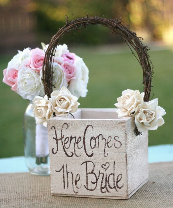 1000+ Ideas About Flower Girl Basket On Pinterest