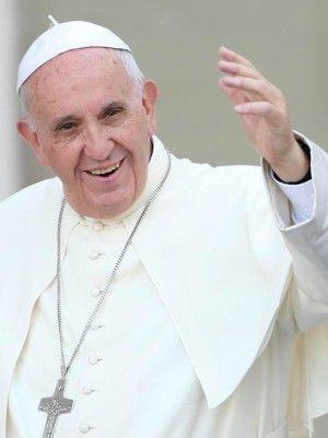 Pope Francis talks unity.