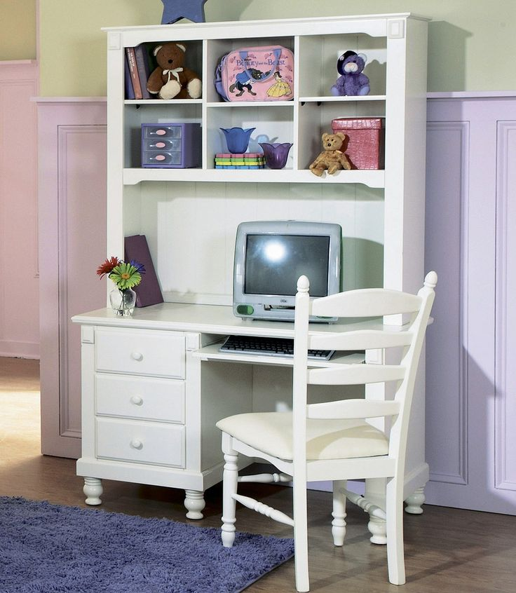 Kids Corner Desk with Hutch - Western Living Room Set Check more at http://www.gameintown.com/kids-corner-desk-with-hutch/
