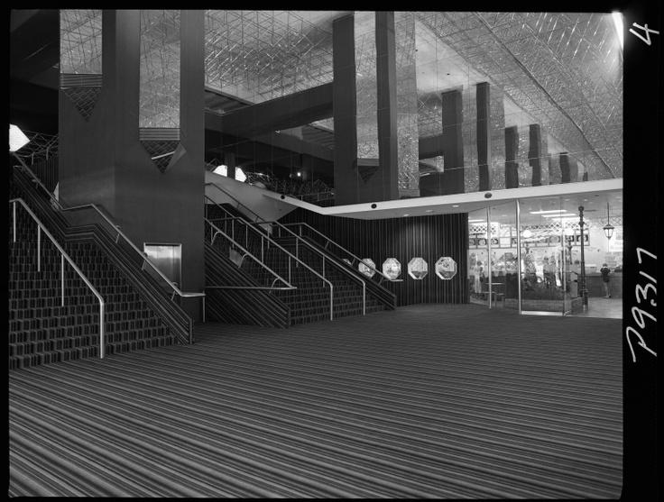 Cinema City Foyer, Hay St, Perth, Jan 1981