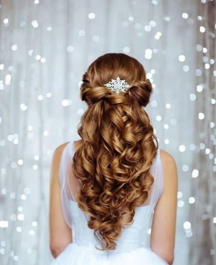 54 trendy Ideas bridal hair half up thin wedding updo