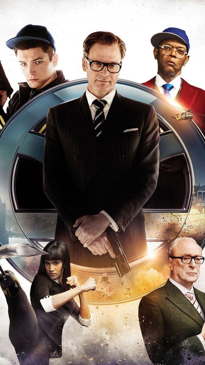 Kingsman The Secret Service 2014 Phone Wallpaper Moviemania Secret Service Kingsman The Secret Service Kingsman Movie