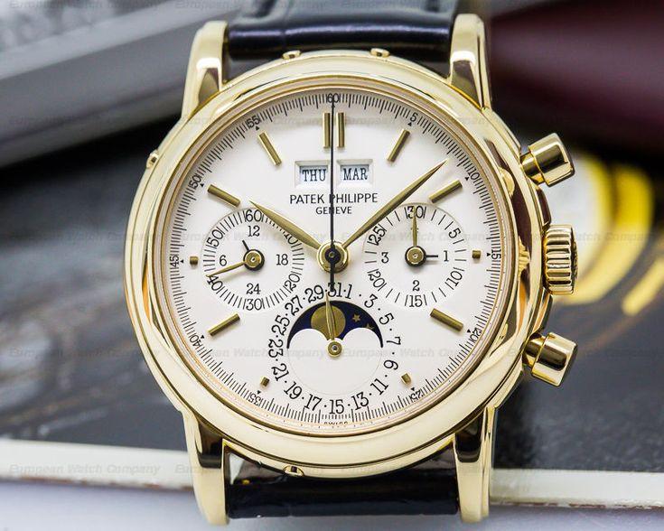 Patek Philippe 3970EJ-051 Perpetual Calendar Chronograph 3970 J  BOX + PAPERS  | eBay