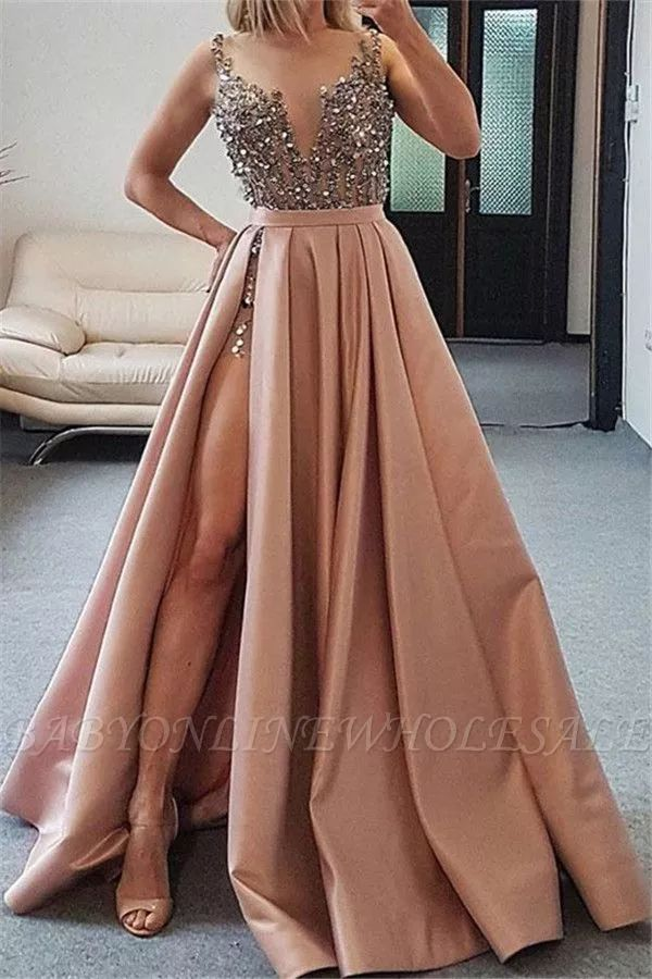 Roter Tüll Appliques Prom Kleid, Sexy Ballkleid Prom Kleider, Prinzessin Quinceaner ...