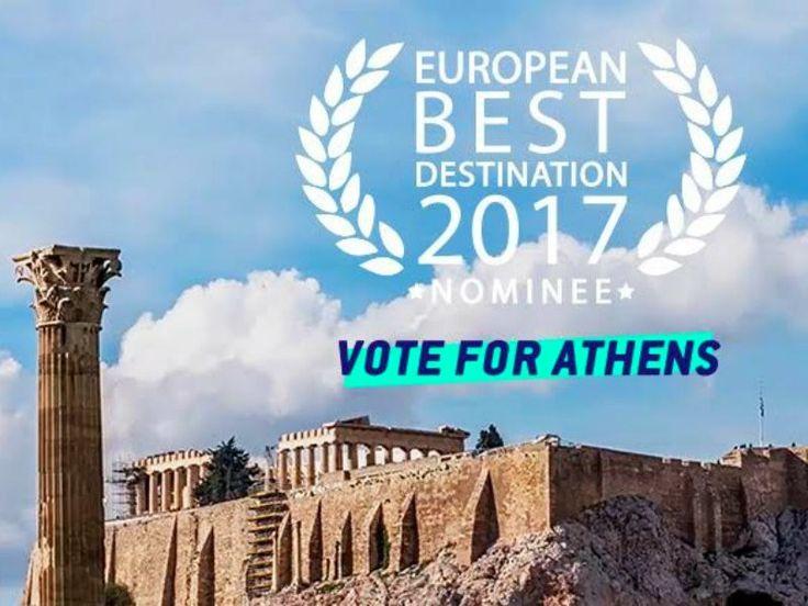 To χαμομηλάκι : Ψηφίστε την Αθήνα μας ως αγαπημένο προορισμό! Vote...