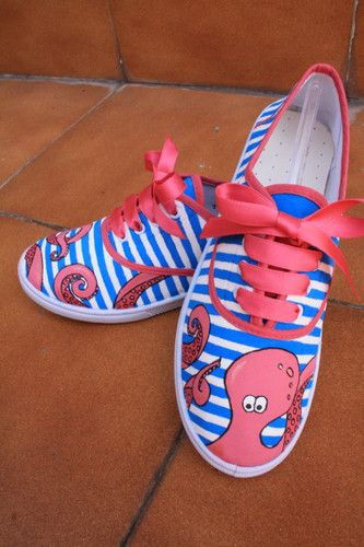 Zapatillas Pintura, Zapatillas Personalizadas, Zapatillas Decoradas, Tenis Estampados, Customizar Prendas, Calzado Niña, Alpargatas