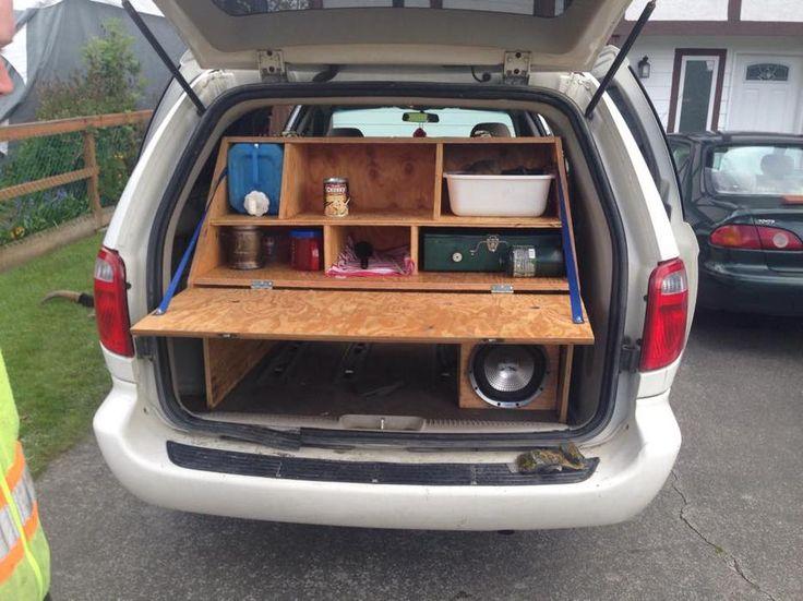 Slick Mini Van Camper Conversion Minivan Camper
