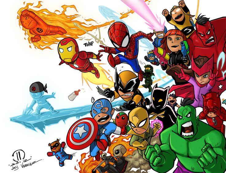 Baby Superheroes Cartoons