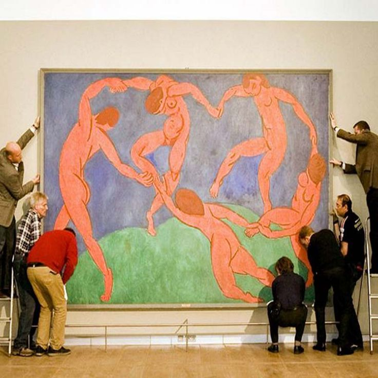 """Museuminrichting: """"Matisse tot Malevich"""" - Hermitage Amsterdam"""