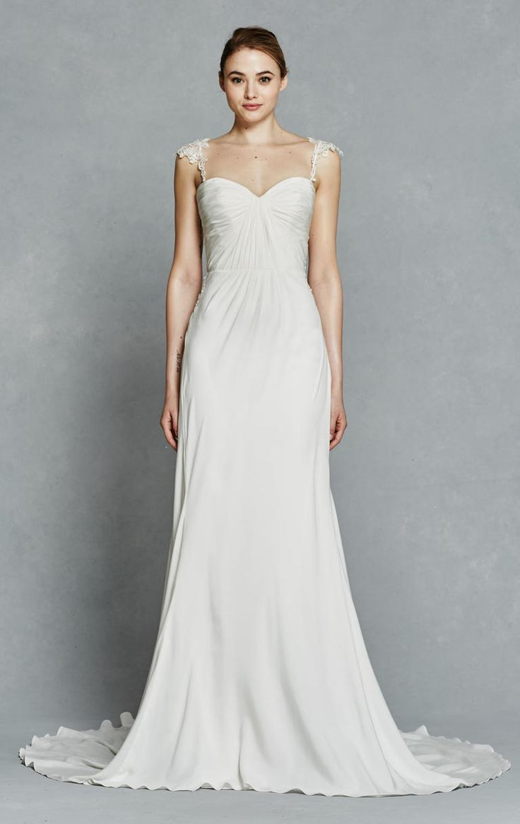 58 best watters gowns images on pinterest bridal collection kelly faetanini shows timeless textured dresses for spring 2017 ombrellifo Image collections