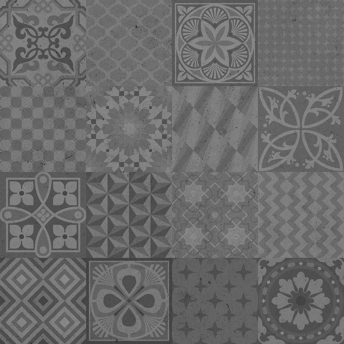 Forbo Modul Up Habitat 2220992 Mosaico Gris Moyen Habitats Flooring