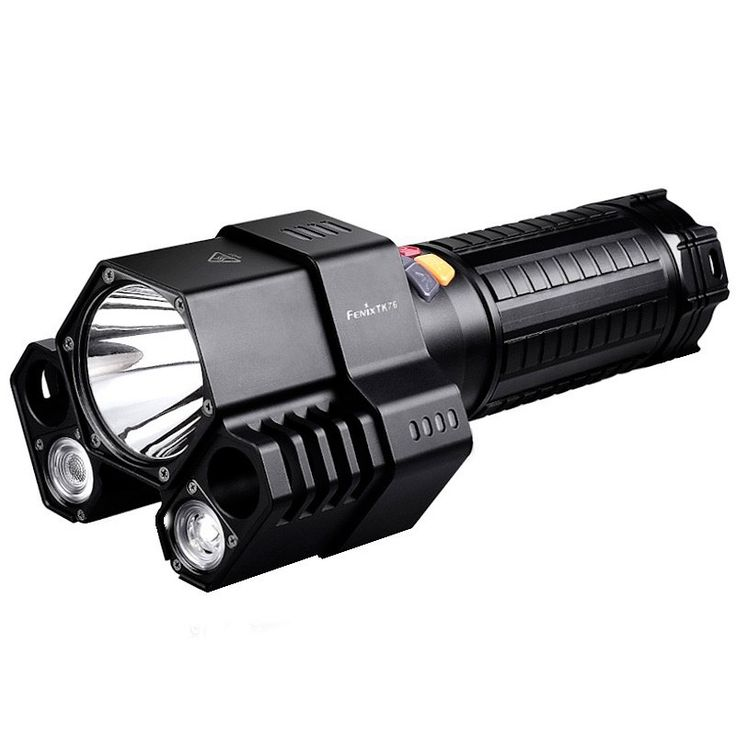 17-Nov-2014 Here's our latest Flashlight Of The Week If Nitecore have their Tiny Monster, this for me is the beast from Fenix! Max output of 2800 lumens from three individually controllable LEDs,  Looks awesome!!  Max beam throw of 450 metres, Running the main beam on full power you can expect to get about 4 hours runtime.   As you'd expect from Fenix, it's waterproof to two metres, & 10% off 'til Sunday 23/Nov/2014 http://ledpowerhouse.com/fenix-tk76-rechargeable-led-torch.html
