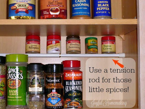 Organizing those Little Things - Joyful Homemaking