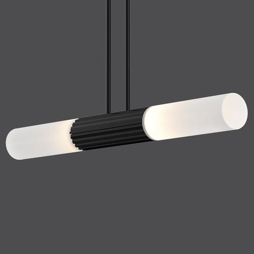 'Suspenders Tri-Bar 36 inch Multi Light Pendant by Sonneman. @2Modern'