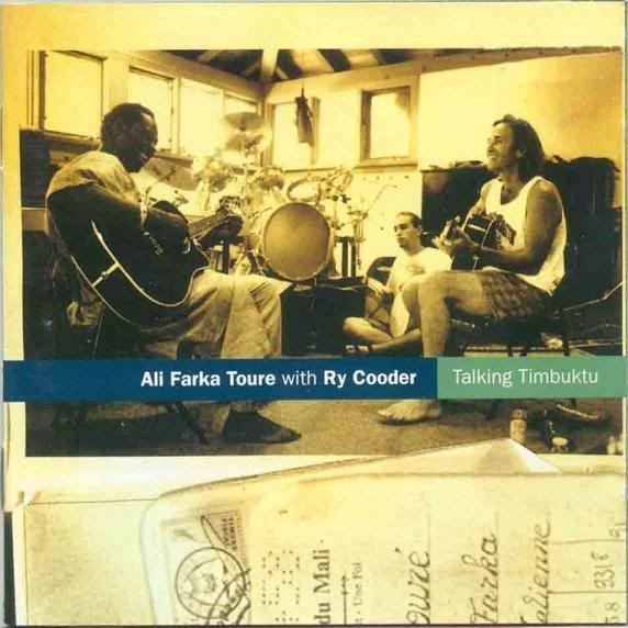 "Ali Farka Toure with Ry Cooder, ""Talking Timbuktu"" (1994)"