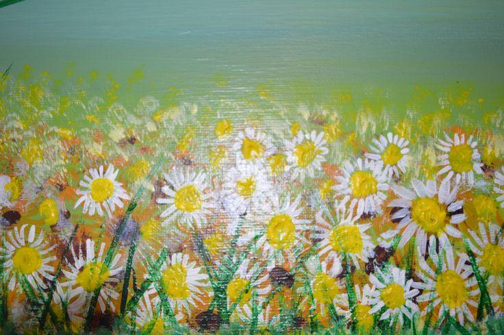 Daisy Canvas Paintings