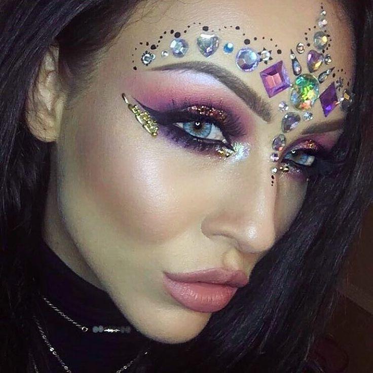 Festival jewels, Festival makeup, Coachella, Coachella makeup