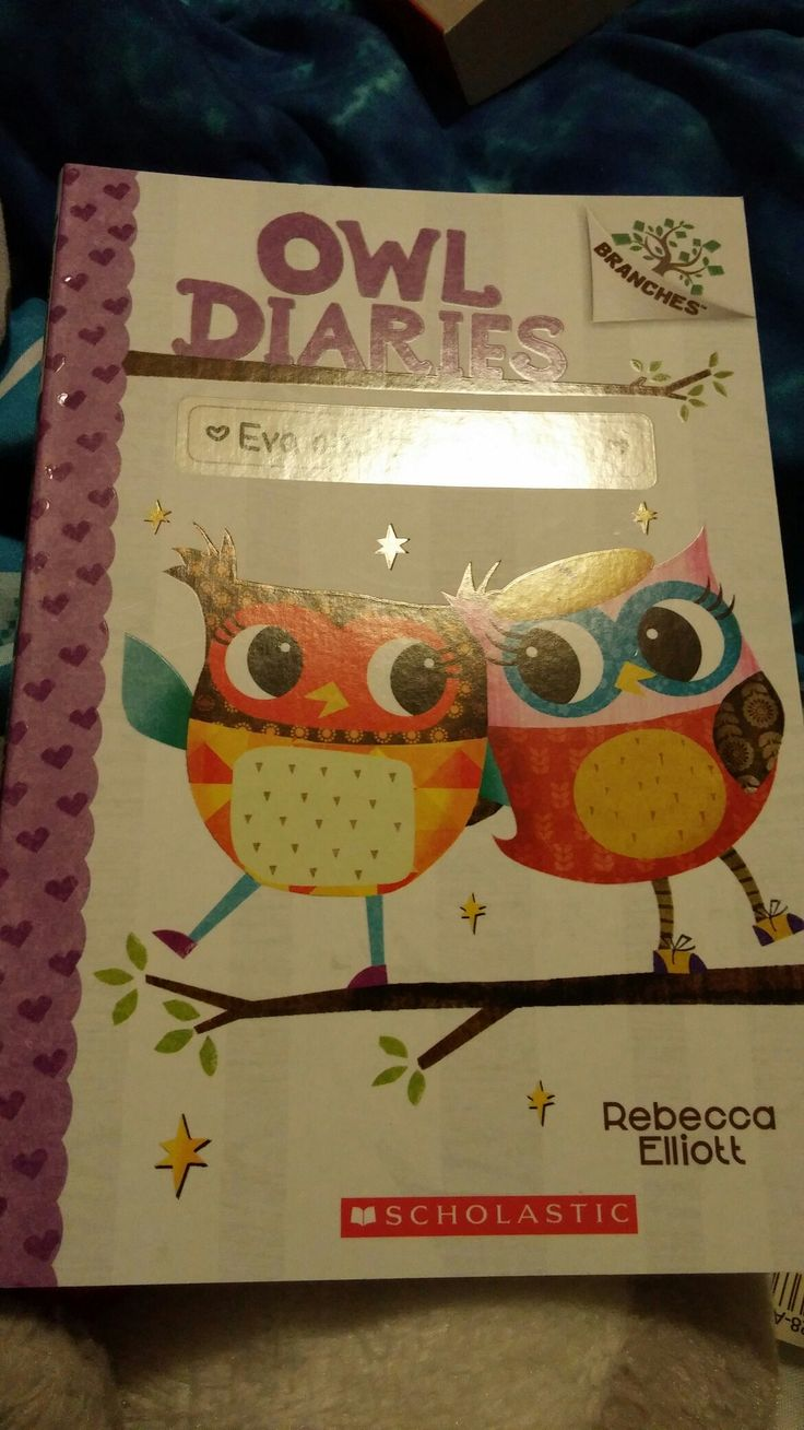 My Brand New Owl Diaries Book Eva And The New Owl That I Just Bought Today From Chapters/Indigo!😄😊☺😉😍😘❤💜💙💚💛💘💞💖💕💓💗💌💋💎💍👣💝🎍