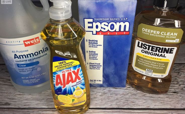 This brilliant gardener pours dish soap into Epsom salt for an easy healthy plant hack