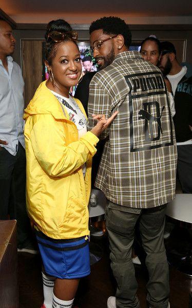 ec9e9de1af93cb Rapsody Photos - Rapsody and Big Sean attend the PUMA Basketball launch  party at 40 40 Club on June 20
