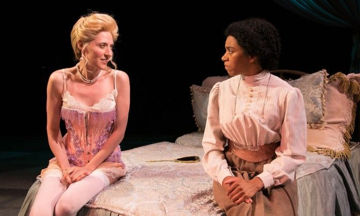 %TITTLE% -  Julia Motyka (left) and Kelly McCreary onstage at Bay Street Theatre for Intimate Apparel. image: lenny stucker Every morning in July, Grey's Anatomy star Kelly McCreary has awoken to views of a beautiful cove and occasional trespassing deer on her lawn. It comes with the territory as she plays... - http://kurumimoe.com/kelly-mccreary-reflects-on-her-east-end-summer.html